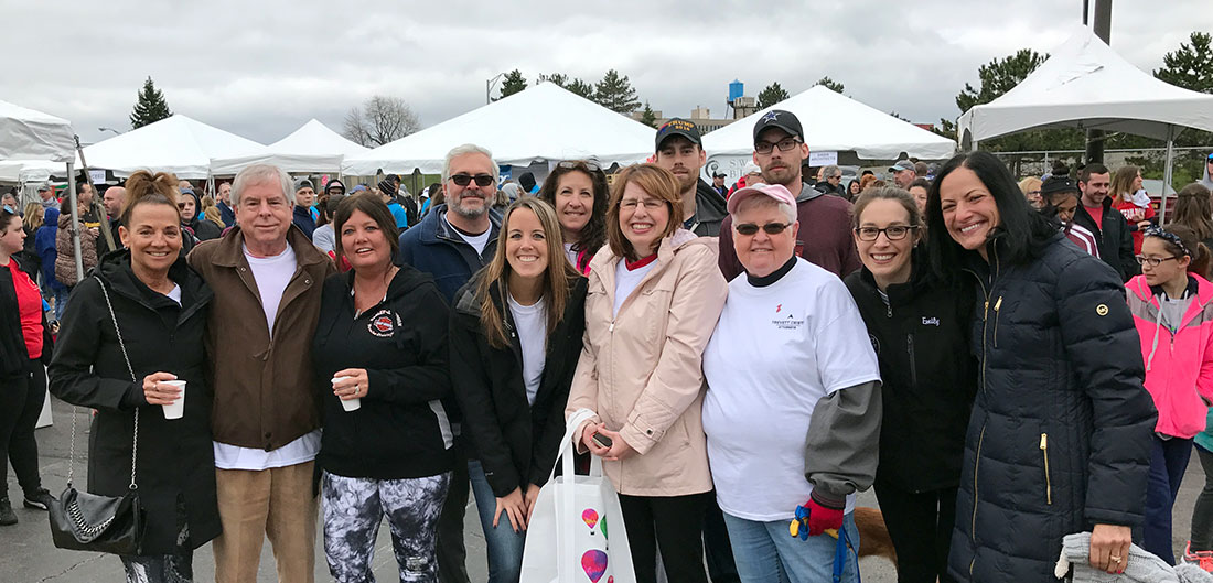 Trevett Cristo Team Walks for Heart Health
