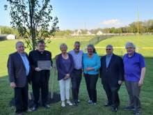 Dedication Ceremony for Tom Trevett at McQuaid Jesuit High School